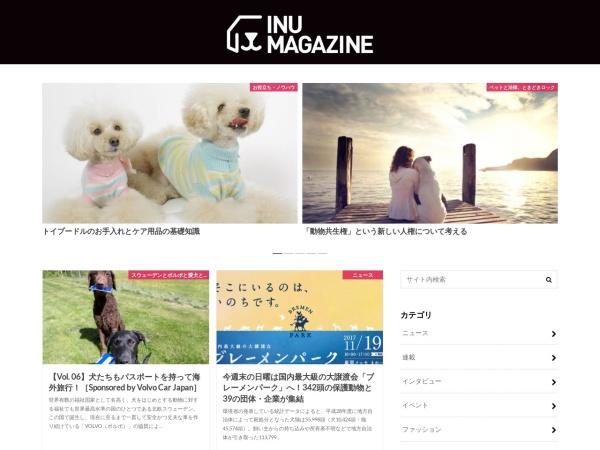Screenshot of inumagazine.com