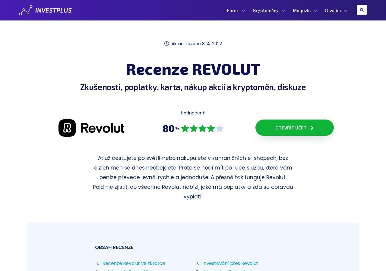 Recenze Revolut – zkušenosti, poplatky, karta, nákup akcií a kryptoměn, bonus, diskuze (Zdroj: Wordpress.com)