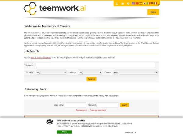 Screenshot of issworld.isoftstone.com