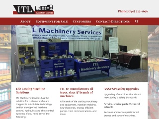ITL Machinery Services Websites