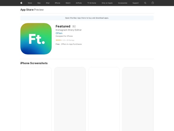 https://itunes.apple.com/us/app/featured/id1356435937?mt=8