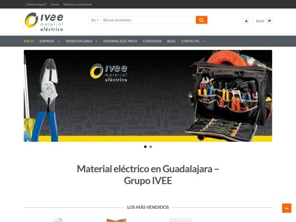 Captura de pantalla de ivee.com.mx