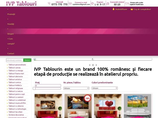 Screenshot of ivptablouri.ro