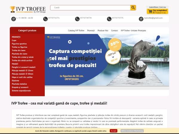 Screenshot of ivptrofee.ro