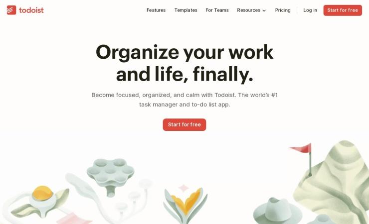 Screenshot of ja.todoist.com