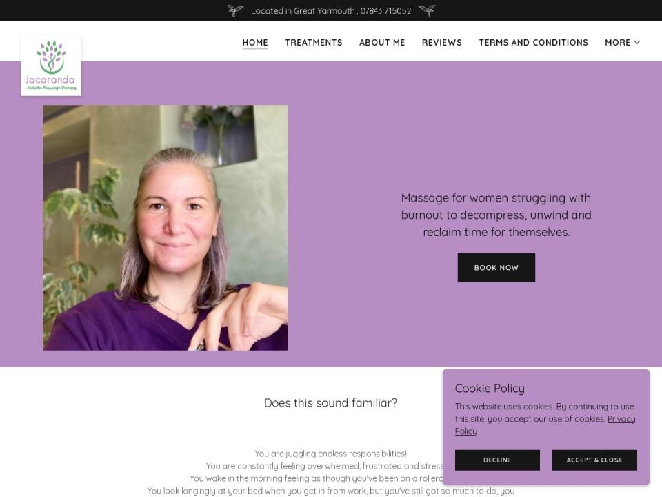 Jacaranda Holistic Massage Therapies