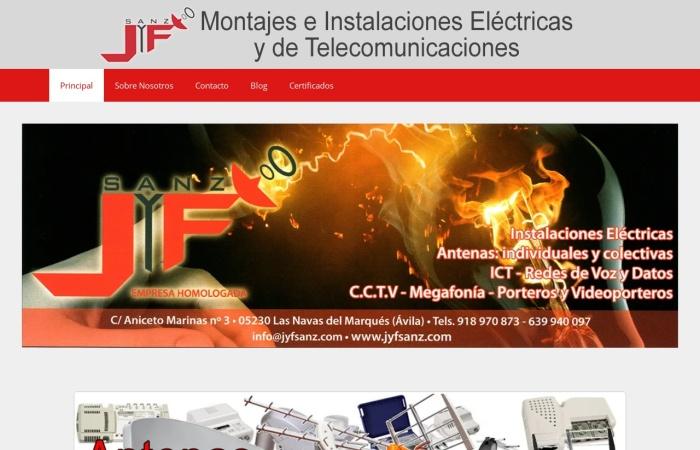Captura de pantalla de jyfsanz.com