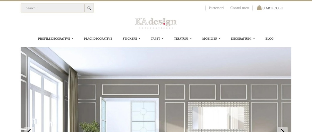 Screenshot of ka-international.ro