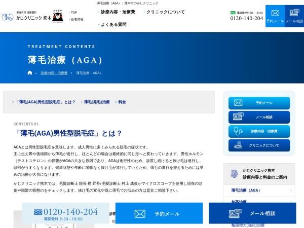 Screenshot of kaji-mens.com