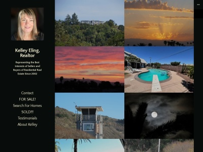 Kelley Eling, Realtor Screenshot