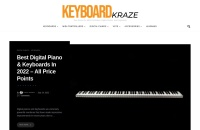 Screenshot of keyboardkraze.com