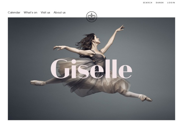 Screenshot of kglteater.dk