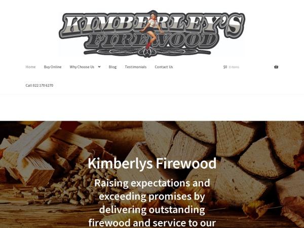 Screenshot of kimberlysfirewood.co.nz