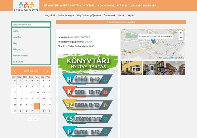 Screenshot of kistelepulesek.hbpmk.hu