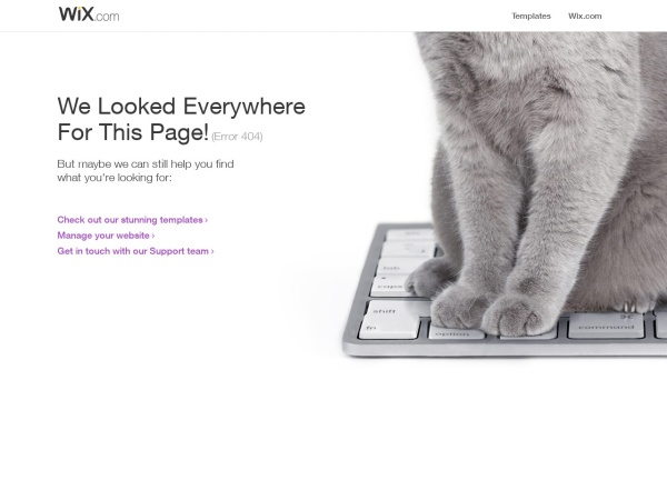 Screenshot of kj4004134.wixsite.com