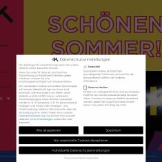 Screenshot of kosmostheater.at