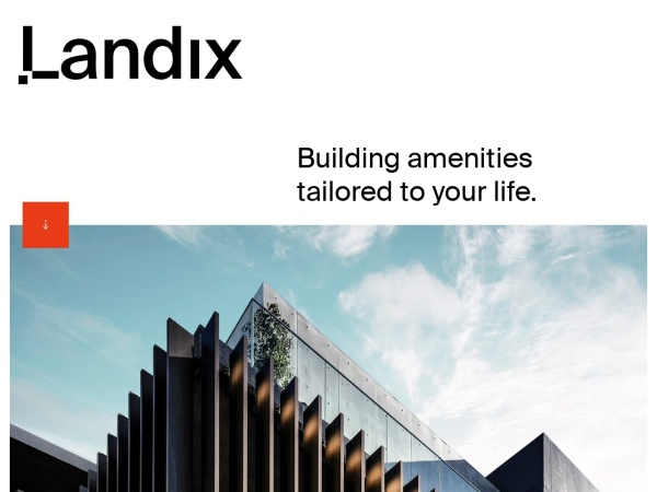 Screenshot of landix.jp