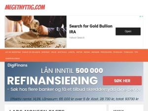 Screenshot of larsmonsenfacts.no