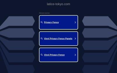 Screenshot of latice-tokyo.com