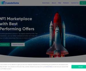 Screenshot of leadsgate.com