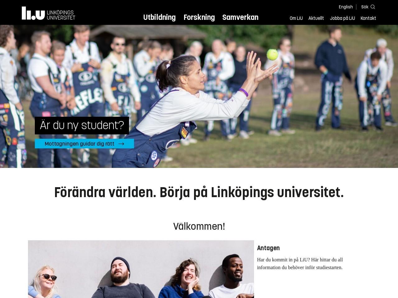 Nationalekonomi 1. Grundkurser. 30 Hp - Linköpings Universitet