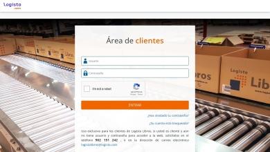 Área clientes - Logista Libros