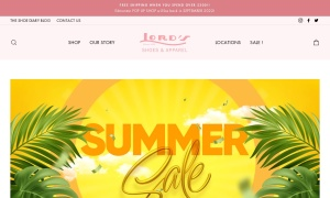 Lord's Shoes & Apparelウェブサイトサムネイル