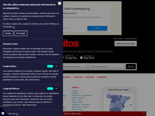 Captura de pantalla de losgratuitos.com