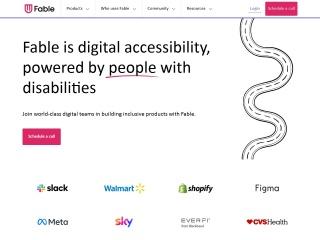 Screenshot of makeitfable.com