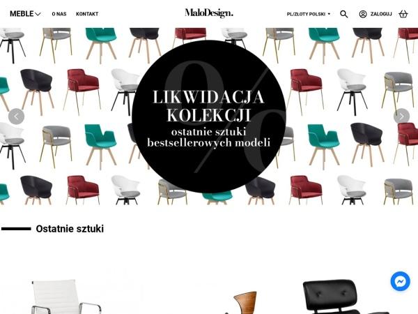 Screenshot of malodesign.pl