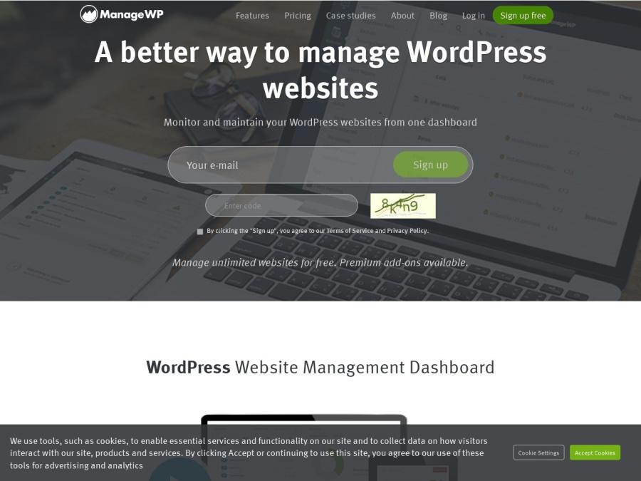 Visit ManageWP