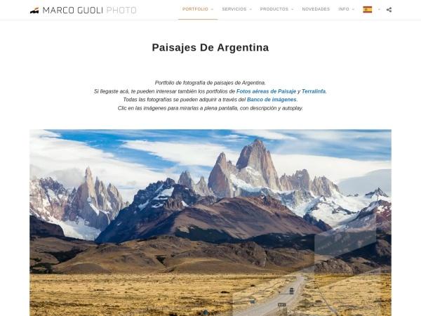 Captura de pantalla de marcoguoli.com