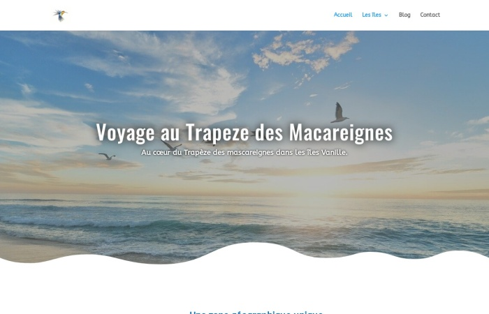 Screenshot of mascareignes-voyages.fr