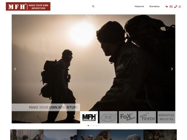 Screenshot of max-fuchs.ru