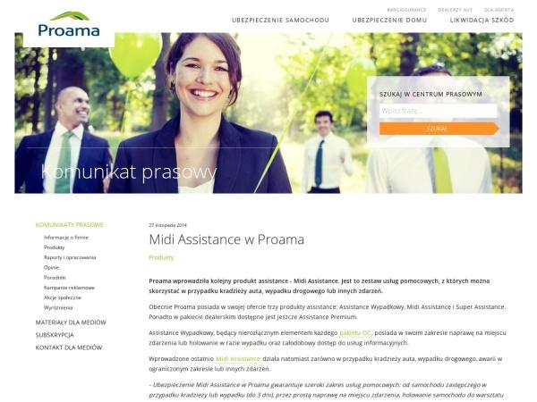 Screenshot of media.proama.pl