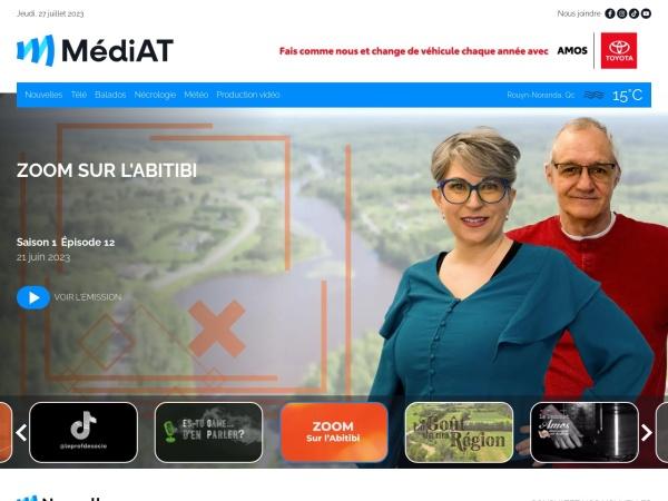 Screenshot of mediat.ca