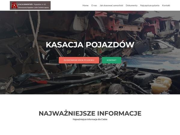 MEGA-CAR Lublin - obrót złomem metali żelaznych