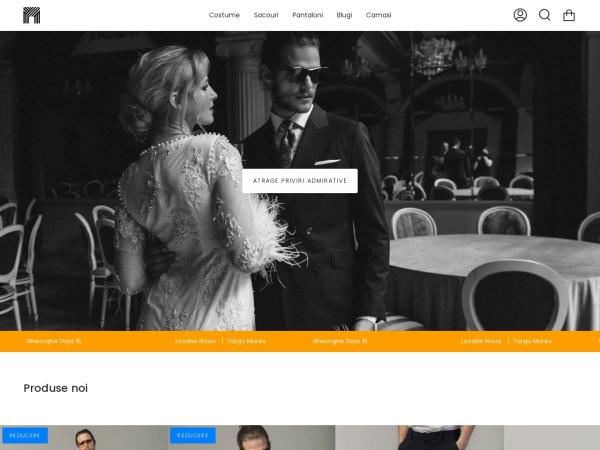 Screenshot of men-club.ro