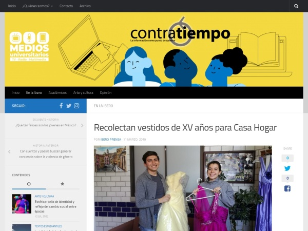 Captura de pantalla de micrositios.iberopuebla.mx