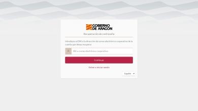 Portal Identidad - Gobierno de Aragón