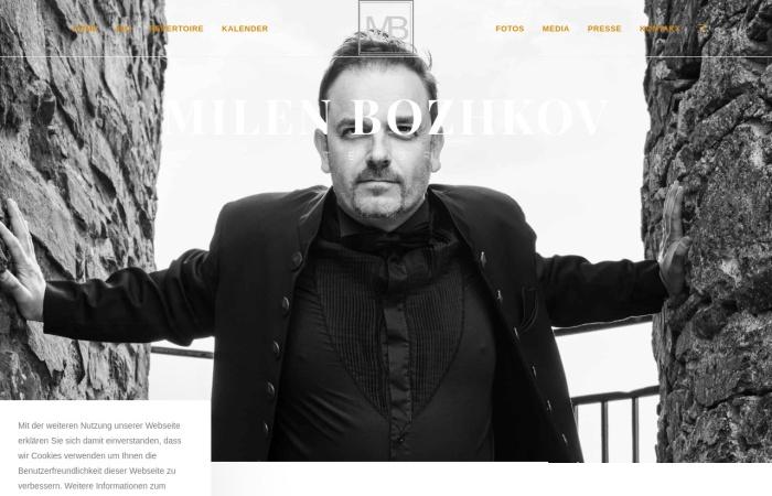 Screenshot of milenbozhkov.de