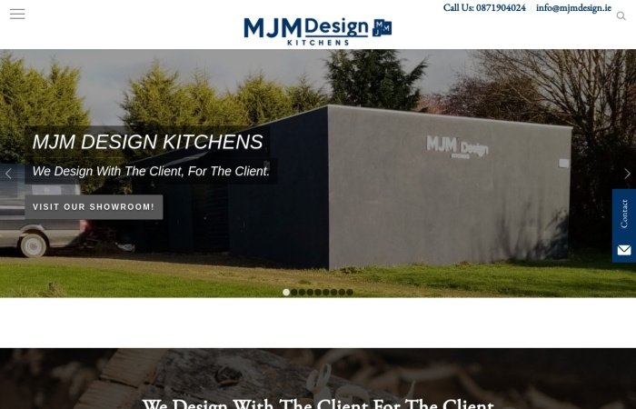 Screenshot of mjmdesign.ie
