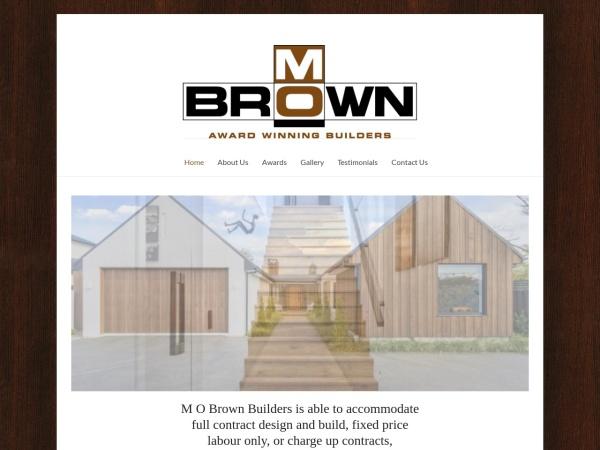 Screenshot of mobrown.co.nz