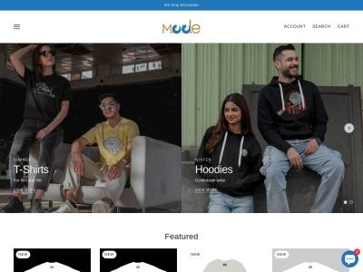 Screenshot of mode-outfits.com