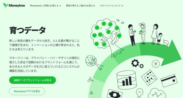 Screenshot of moneytree.jp