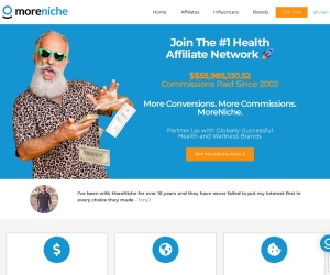 Screenshot of moreniche.com