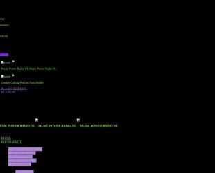 Screenshot of musicpowerradio.nl