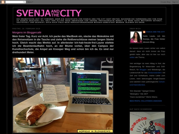 Screenshot of mysvenja.blogspot.de