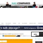 Screenshot of nascompares.com