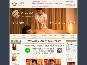 Screenshot of okachimachi-mensesthe.com